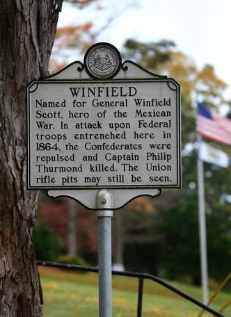 Co. D faced over 400 Confederates in skirmish at Winfield