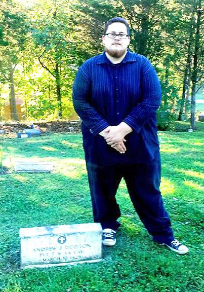 Grave of Andrew Jackson Dodson