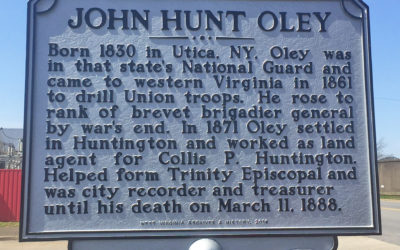 John Hunt Oley Historical Marker